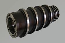 スクリュー 四軸加工 Φ180×Φ90×607ℓ SKD11
